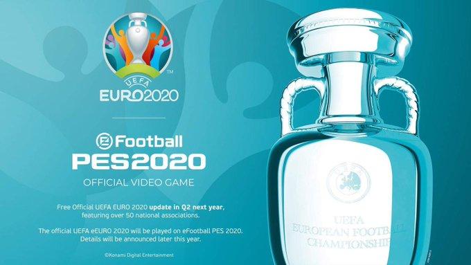 euro 2020 w pes 2020