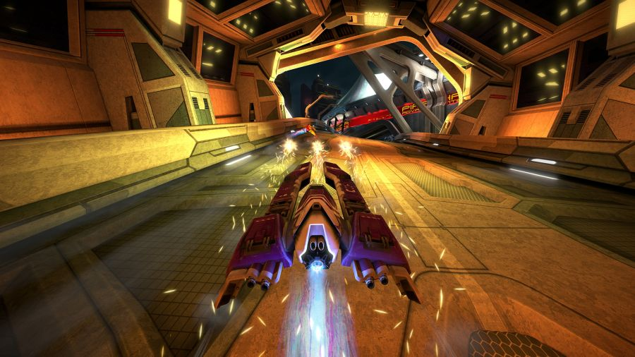 gry ps plus na sierpien 2019 - wipeout omega collection