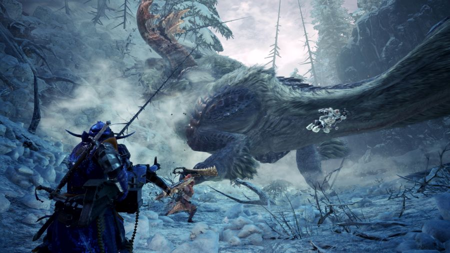 trailer monster hunter world iceborne z gamescom 2019