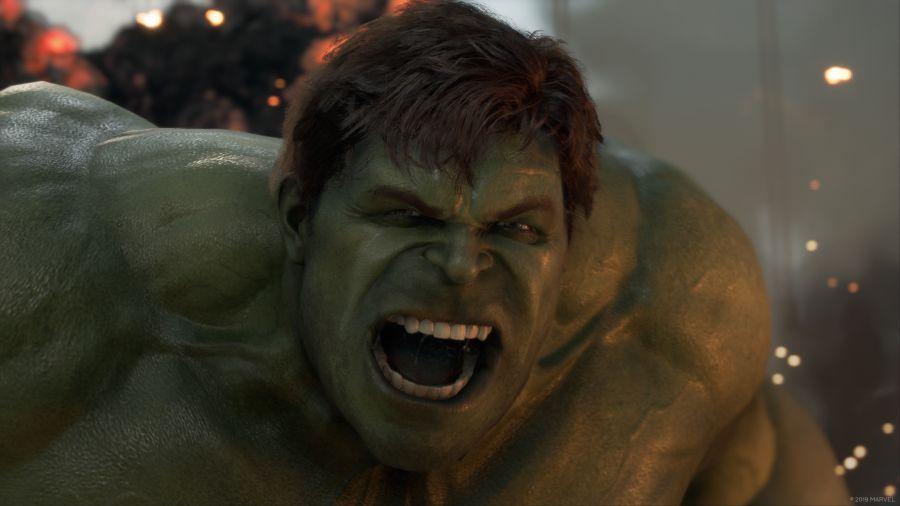 hulk w zwiastunie marvel's avengers