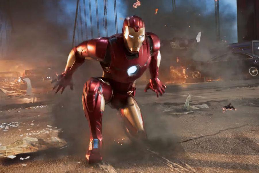 marvel's avengers iron man zwiastun
