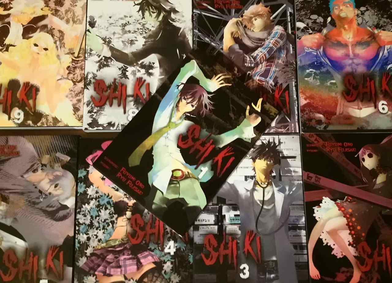 Shiki 1- 9 [RECENZJA]. Manga z wysokim progiem wejścia