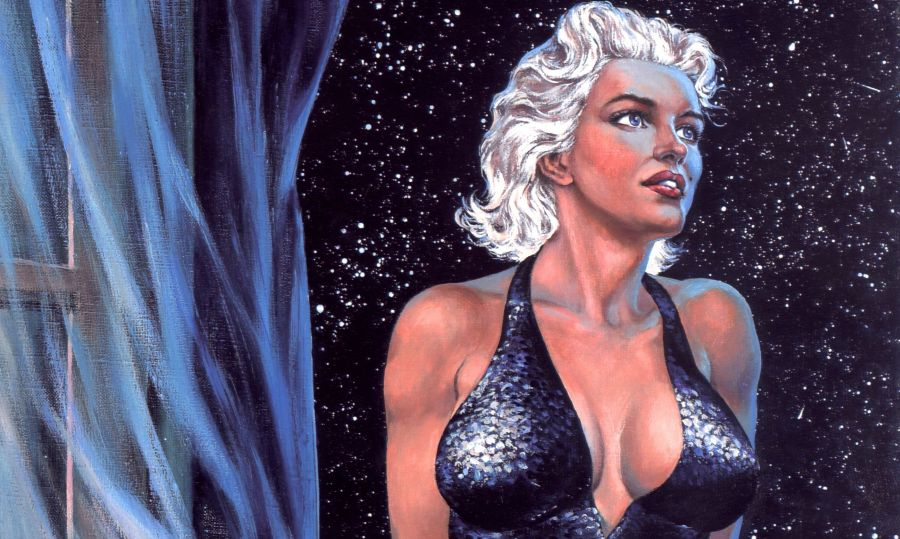 Spadajaca gwiazda Marilyn Monroe wydawncitwo ongrys