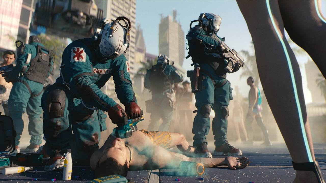 cd projekt red na poznan game arena 2019 - cyberpunk 2077
