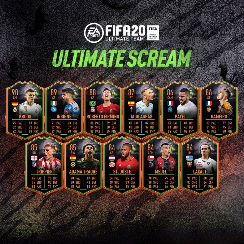 fifa 20 fut ultimate scream