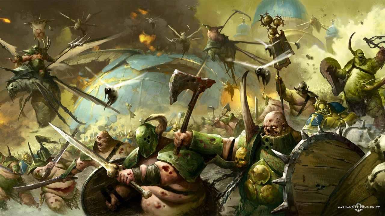 marvel wyda komiksy warhammera