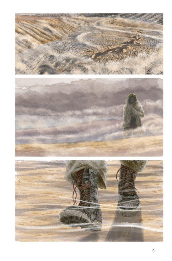 morze aralskie timof comics