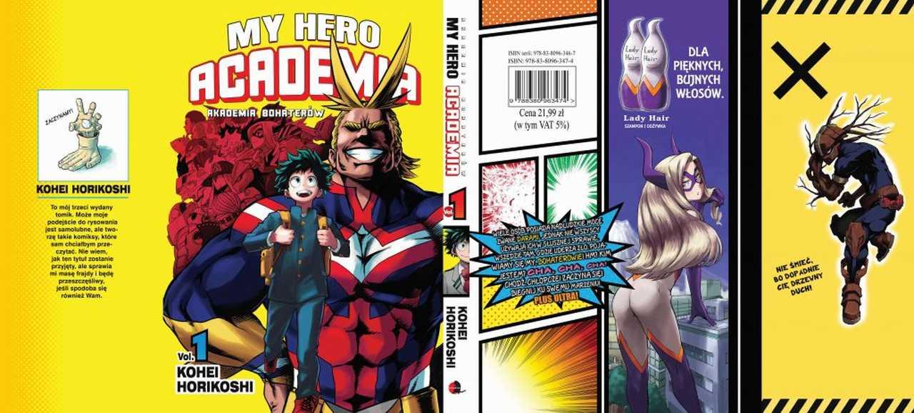 My Hero Academia 1-3 [RECENZJA]. Czy warto sięgać po Akademię Bohaterów?