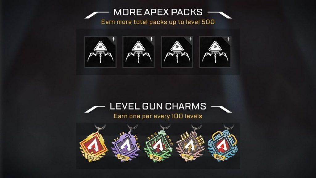 apex legends poziom 500