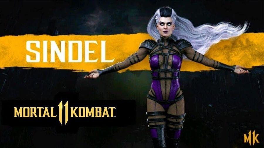 Mortal Kombat 11: Sindel przedstawiona na gameplayu