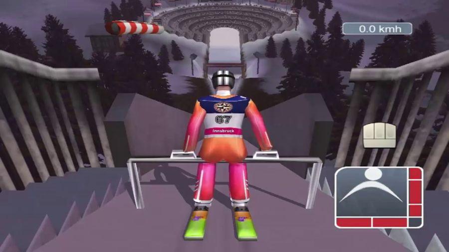 skoki narciarskie 2002 polskie zloto - kultowe gry sportowe 1