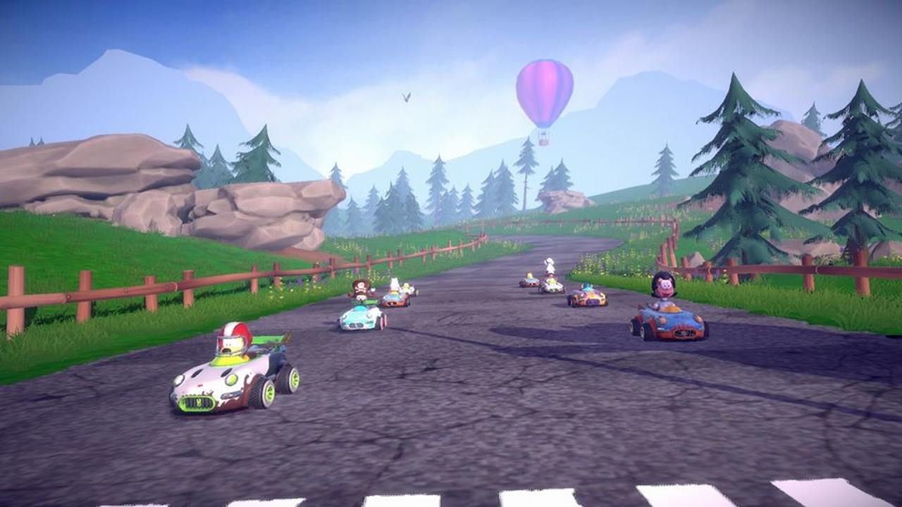 Garfield Kart: Furious Racing na Nintendo Switch [RECENZJA]