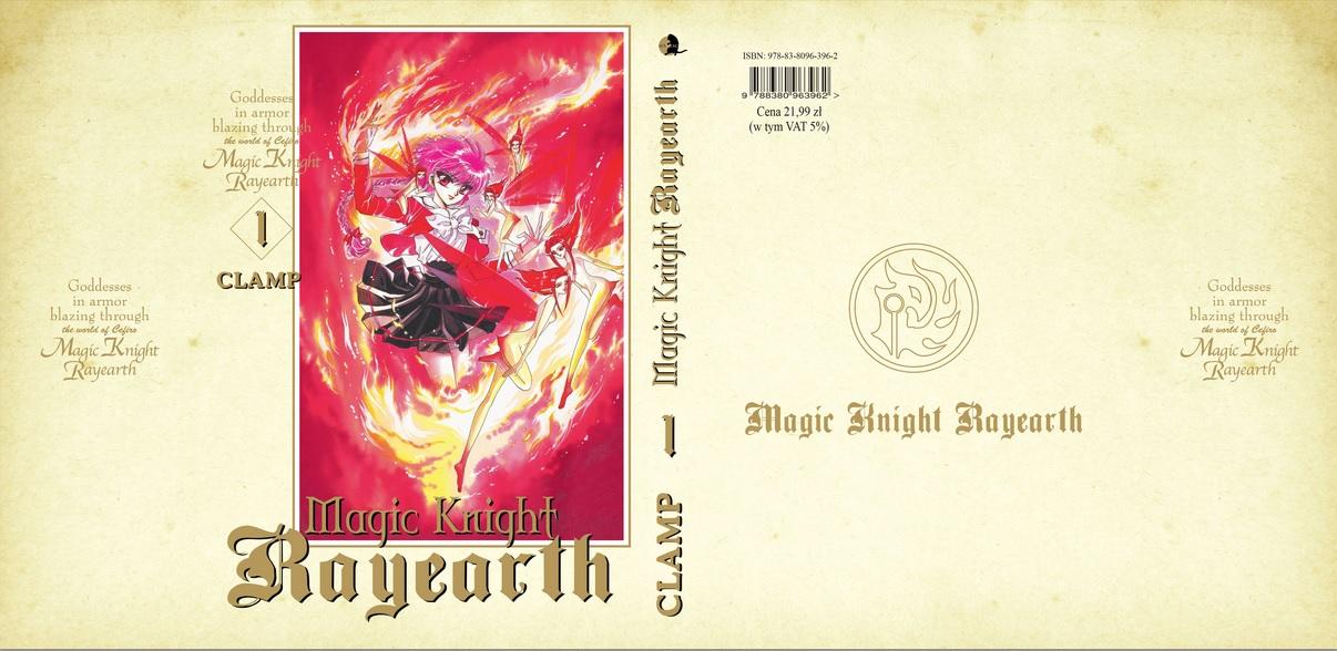 Magic Knight Rayearth 1-5 [recenzja]