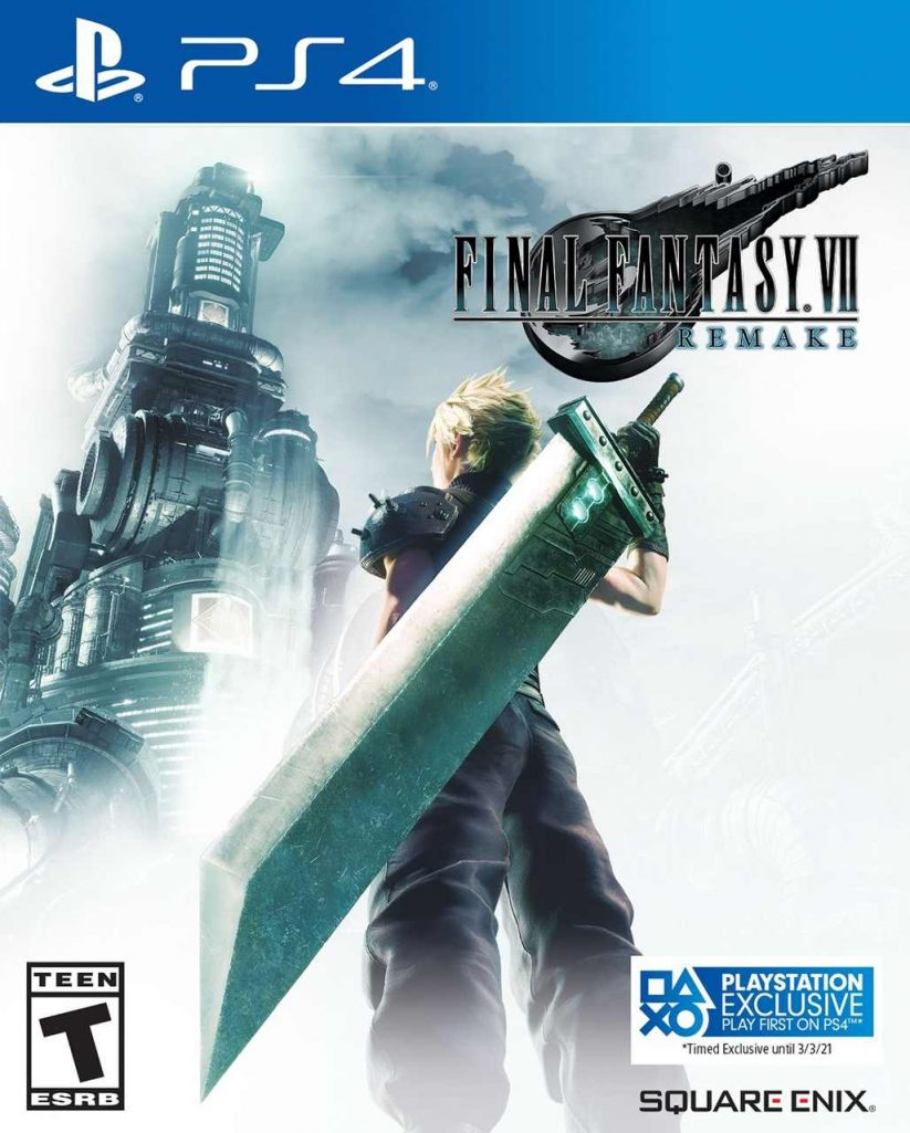 final fantasy vii remake exclusive