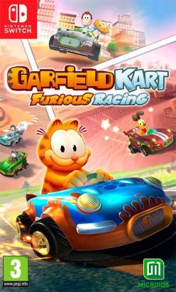Garfield Kart: Furious Racing na Nintendo Switch [RECENZJA]