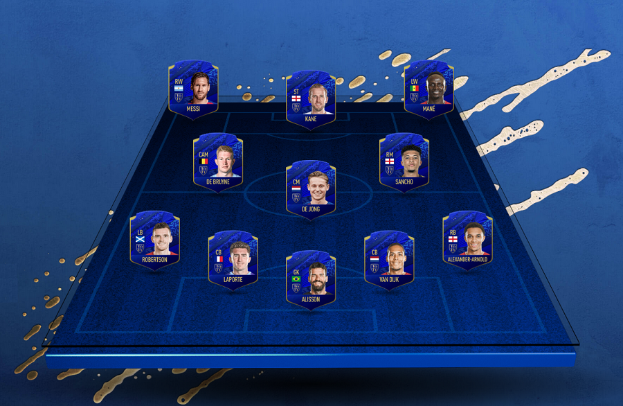 team of the year w fifa 20