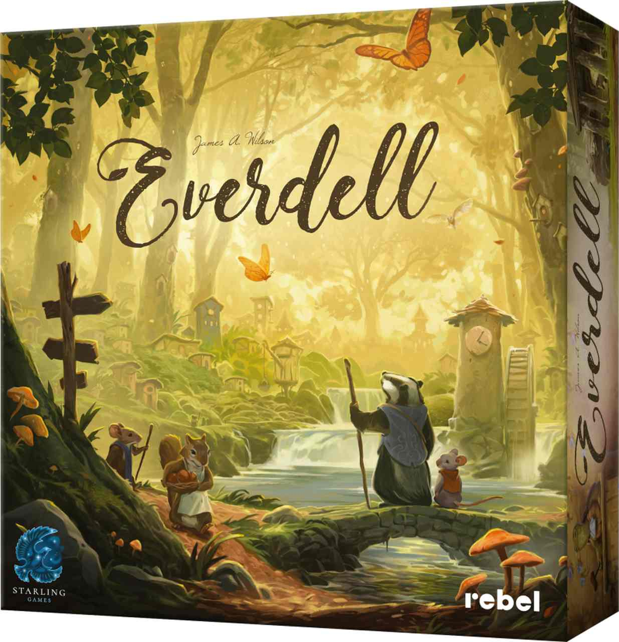 Everdell od Rebela [RECENZJA]. Jedna z piękniejszych gier planszowych na rynku