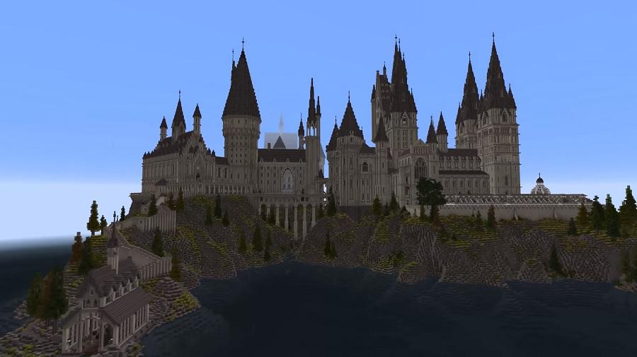 Minecraft: zwiedzaj Hogwart niczym Harry Potter