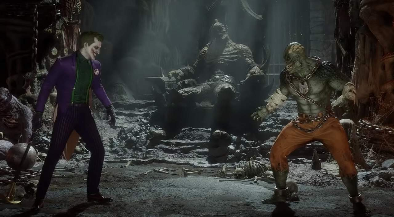 Joker już sieje postrach w Mortal Kombat 11