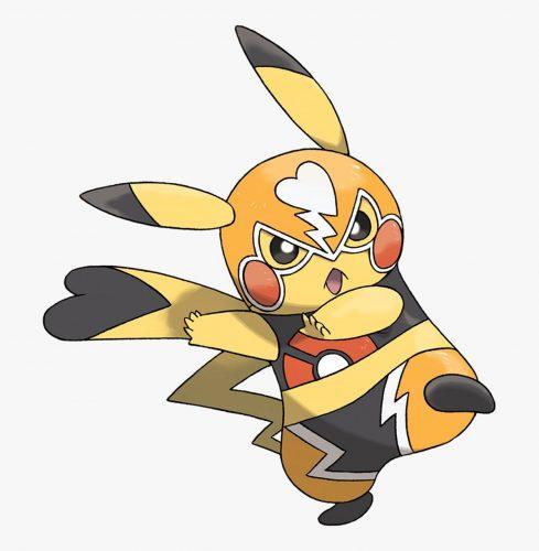 pokemon go - pikachu libre