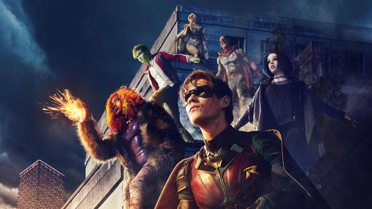 titans - seriale i filmy w netflix na weekend