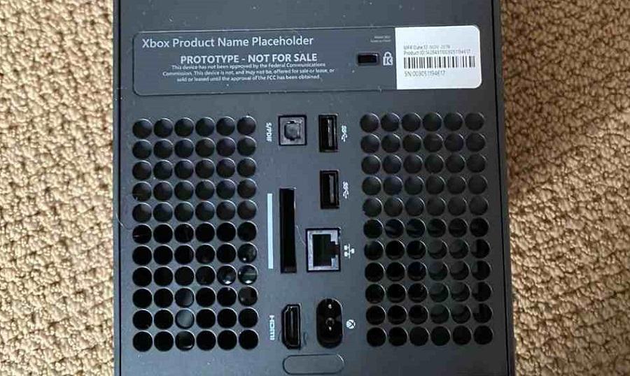 Xbox Series X – wyciekło zdjęcie prototypu konsoli