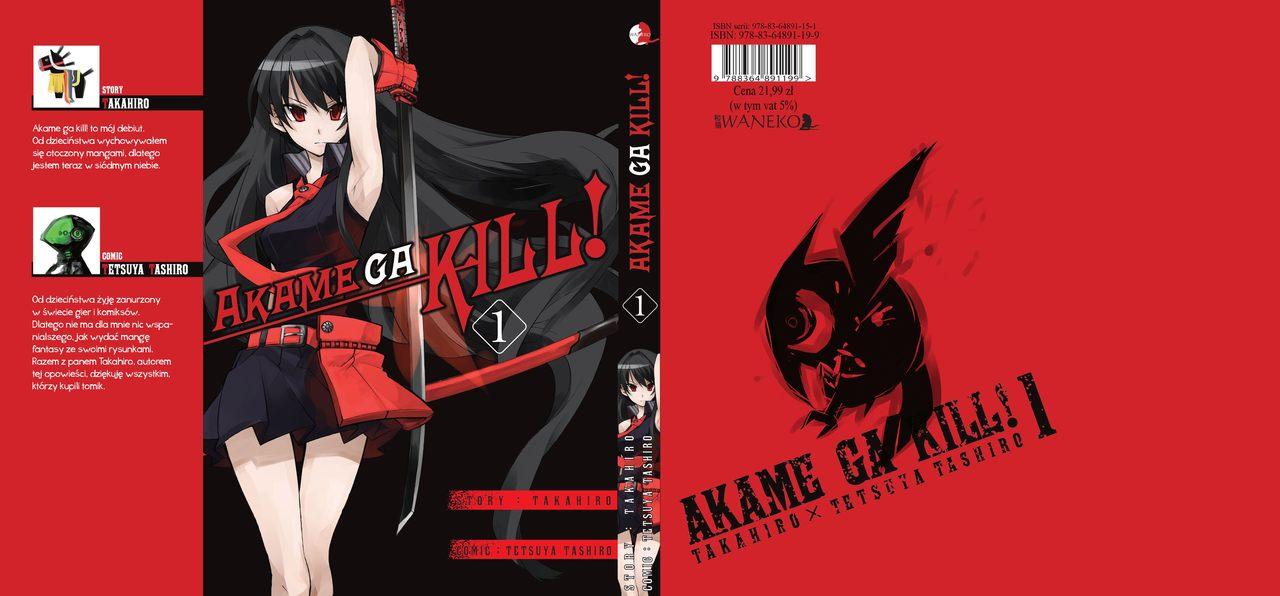 Akame ga kill! 1-5 [RECENZJA]