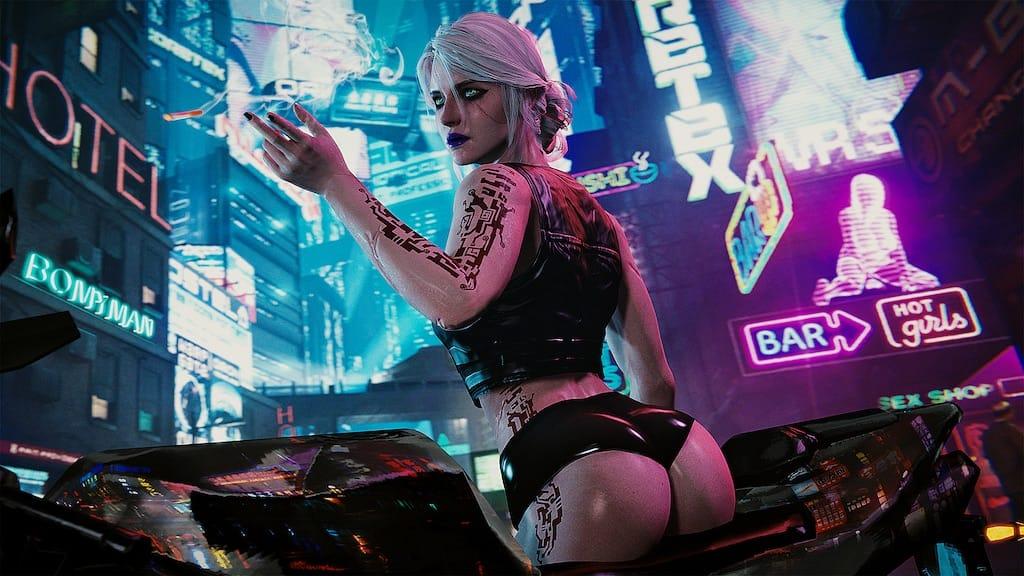 Co robi Ciri w Cyberpunk 2077? Zobacz jak wygląda