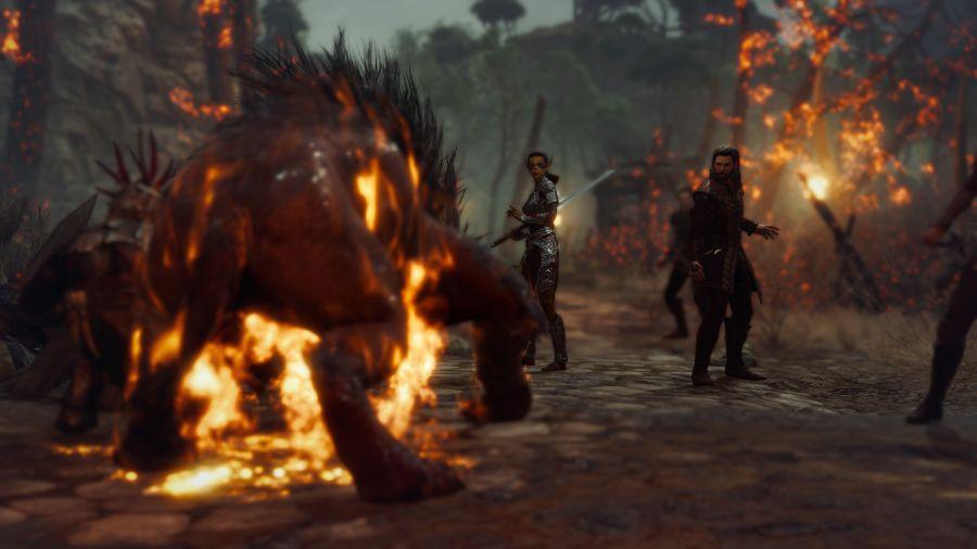 gameplay baldur's gate 3
