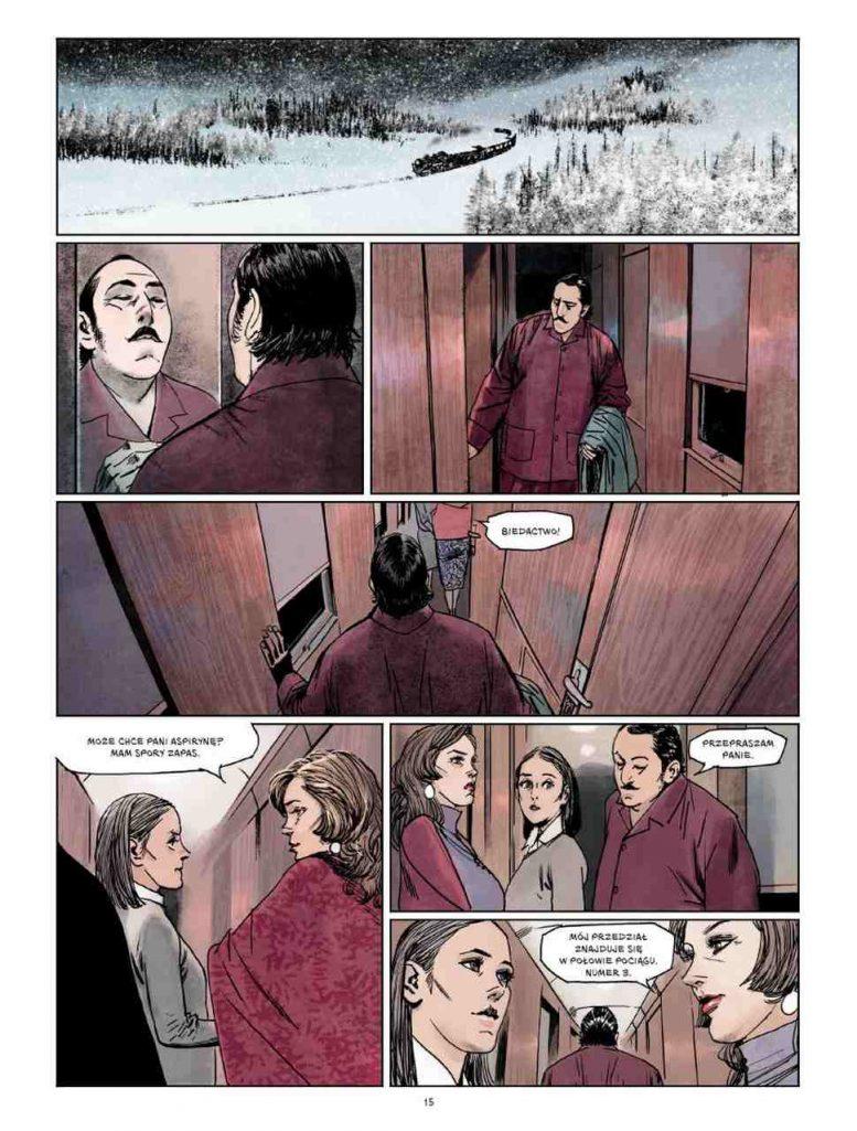 Morderstwo w Orient Expressie - komiks