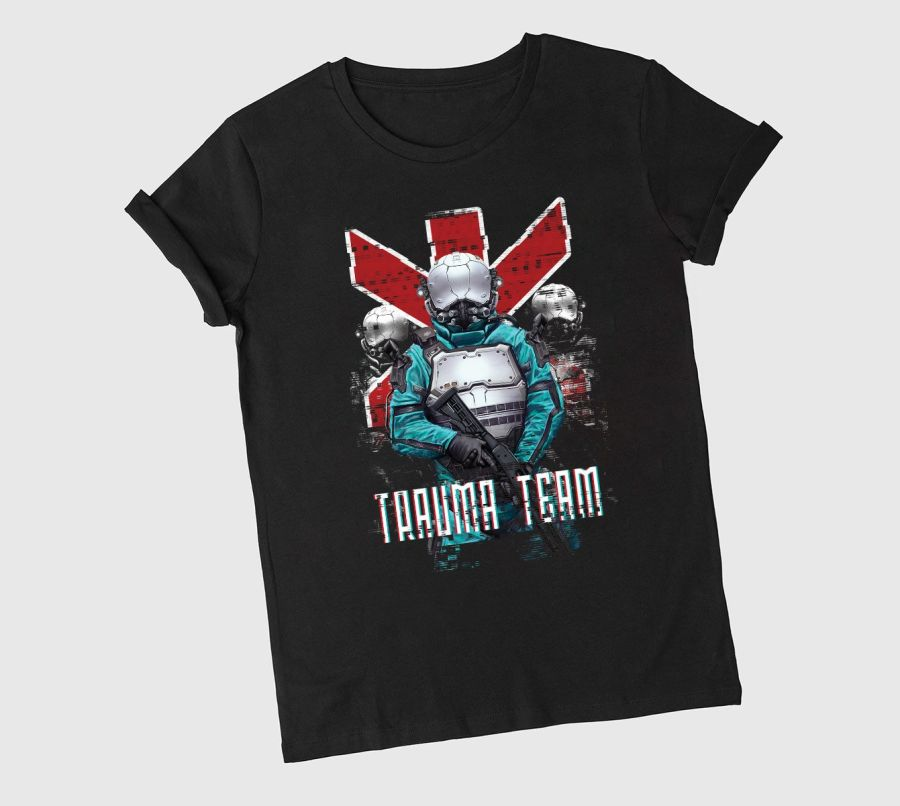 cyberpunk 2077 koszulka