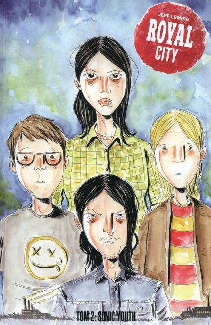jeff lemire - royal city