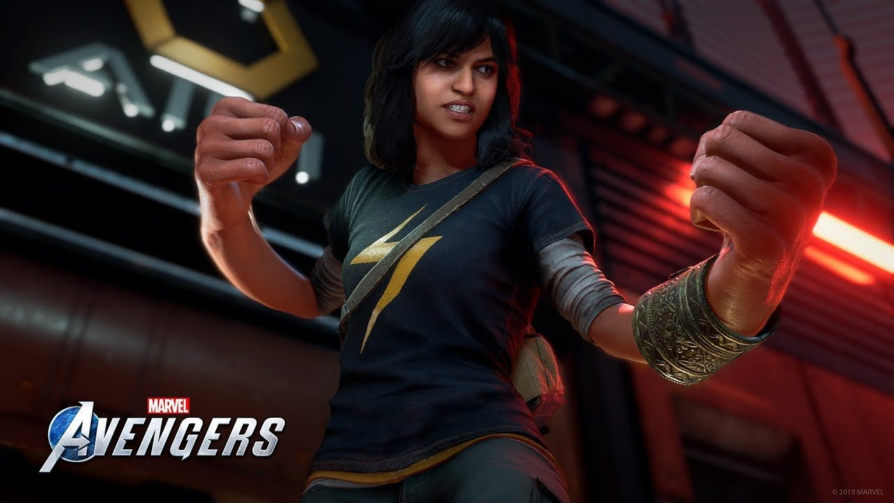 kamala khan w marvel's avengers