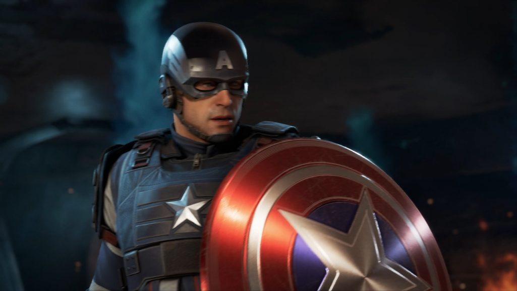 kapitan ameryka w marvel's avengers