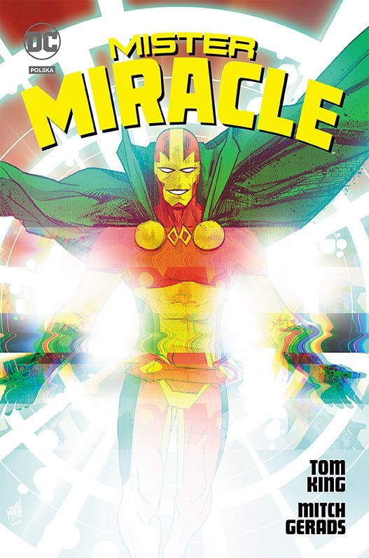 mister miracle - comic relief