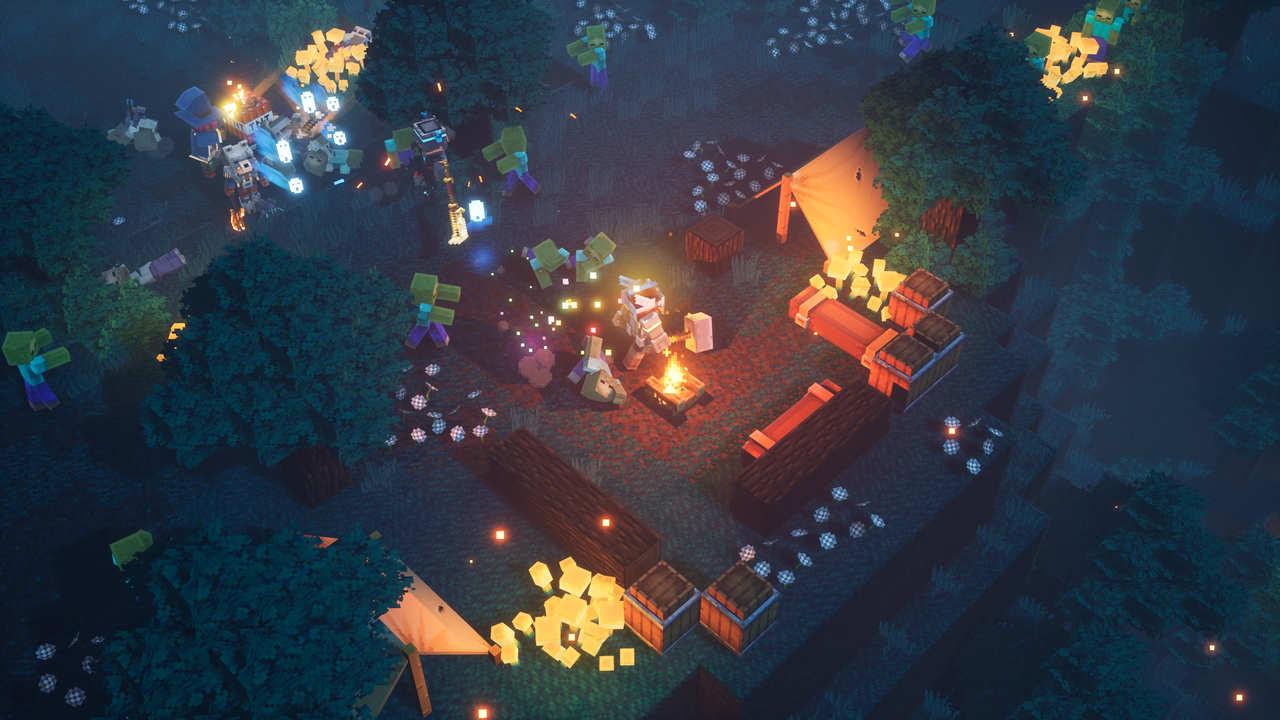 premiera minecraft dungeons juz w kwietniu