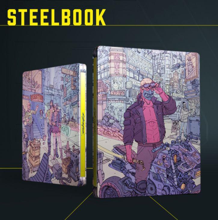 steelbook cyberpunk 2077 dodawany do zamówień na amazon.it oraz cdp.pl