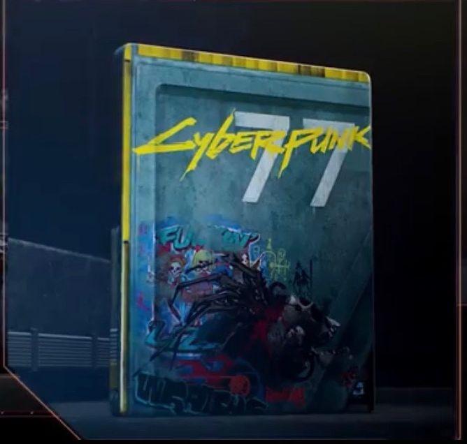 steelbook cyberpunk 2077 - edycja kolekcjonerska