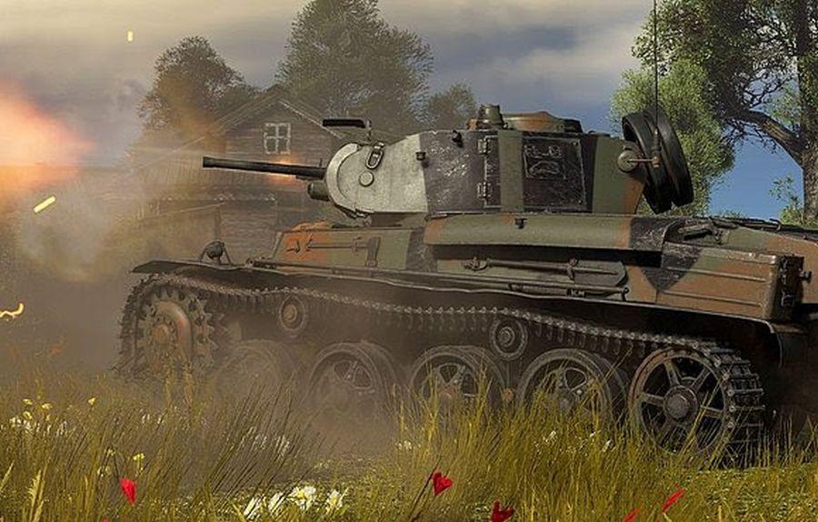 szwedzki czołg z aktualizacji war thunder na marzec 2020