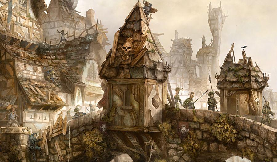 ekran mistrza gry w warhammer rpg