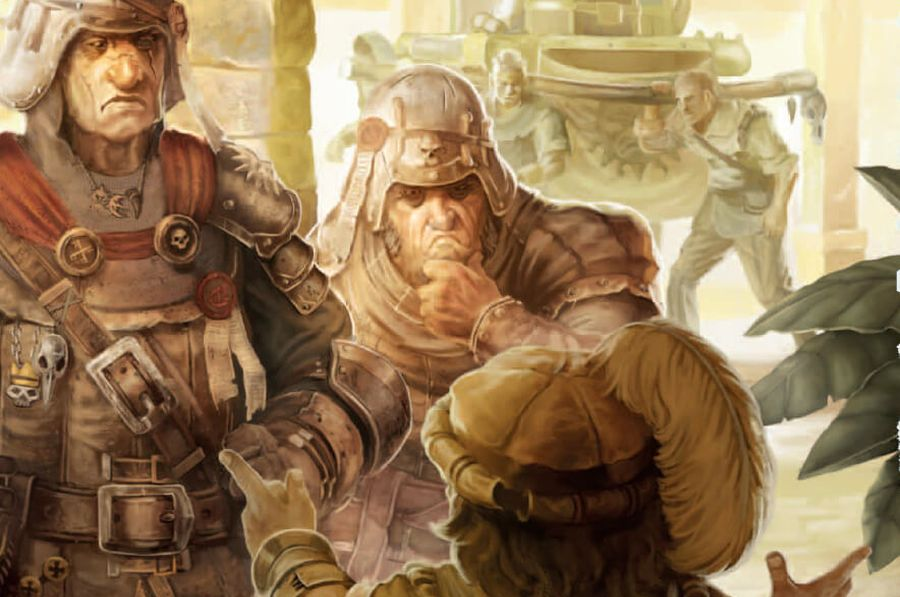 strażnicy w warhammer rpg
