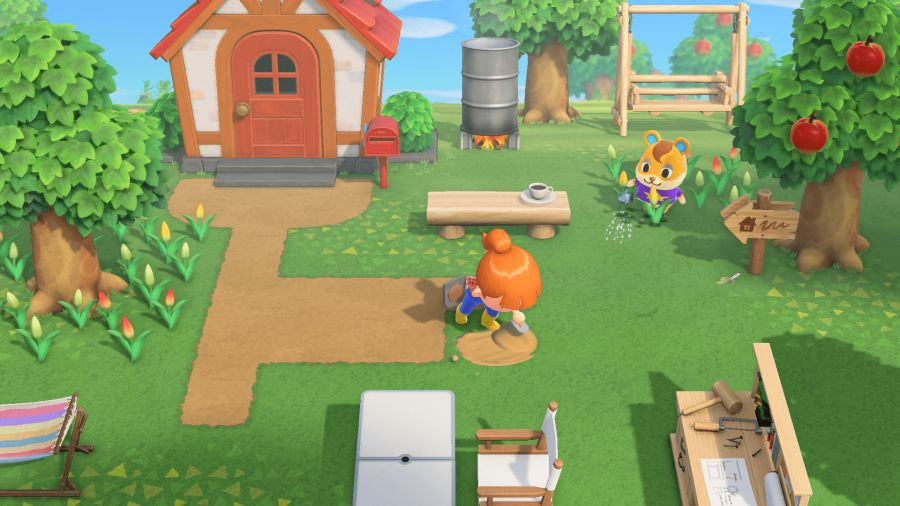 spokojny gameplay to główna zaleta animal crossing: new horizons