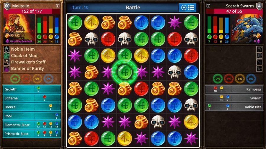 gry dla rodziców i dziadków - puzzle quest