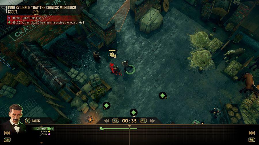 gameplay gry peaky blinders przypomina kultowych commandosów