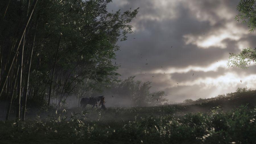 koń to najlepszy środek transportu w Ghost of Tsushima