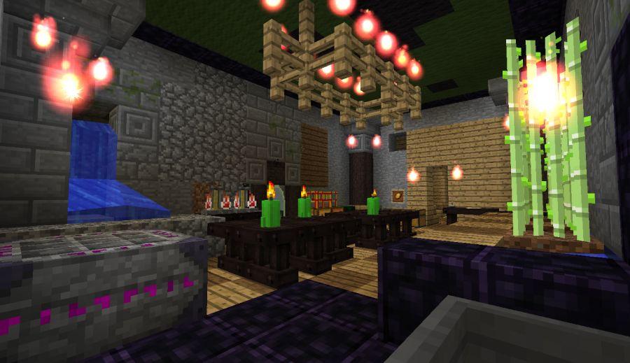 siedziba alchemika w Minecraft