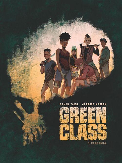 okładka komiksu Green Class wydanego przez Egmont