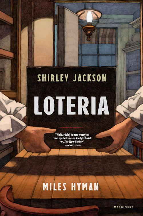 okładka komiksu Loteria wydanego przez Marginesy