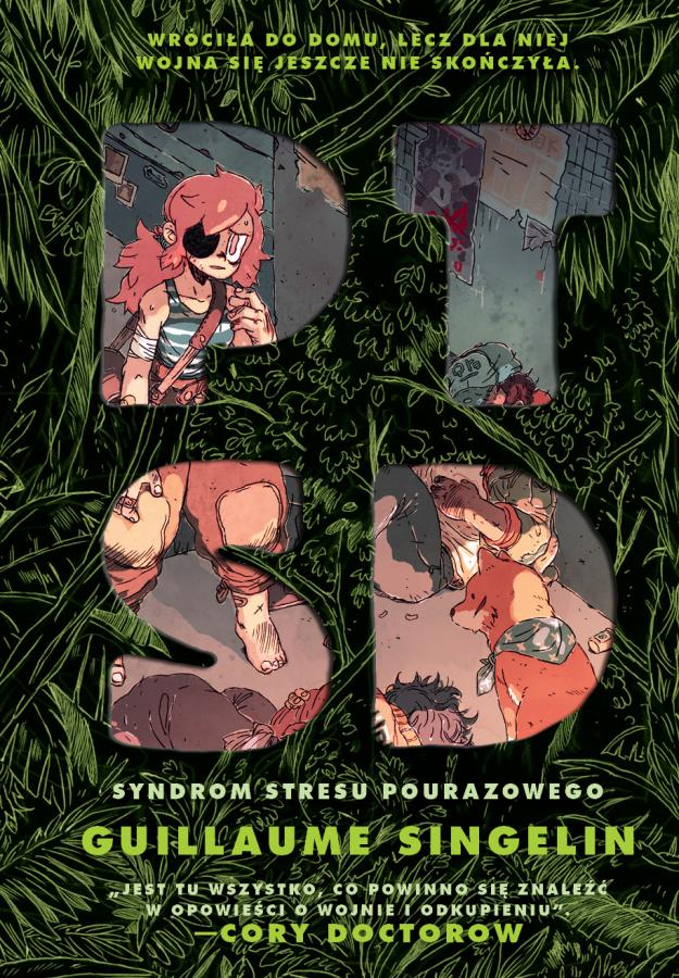 okładka komiksu PTSD wyd. Non Stop Comics