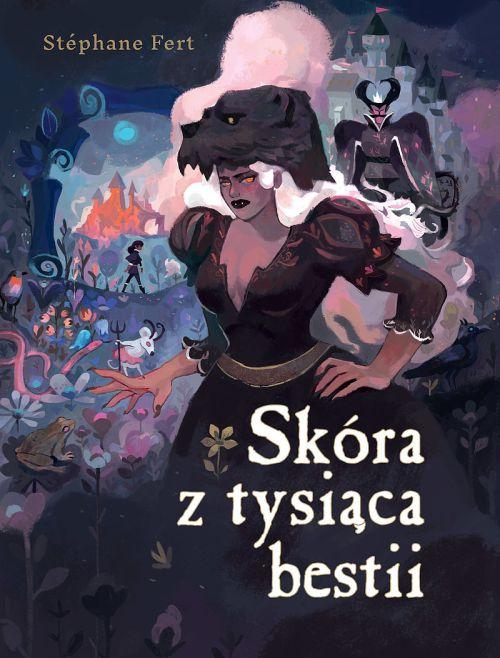 okładka komiksu Skóra z tysiąca bestii